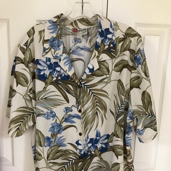 370a1ebb Hilo Hattie Other - Hilo Hattie Men's Hawaiian Orchid Aloha shirt, ...